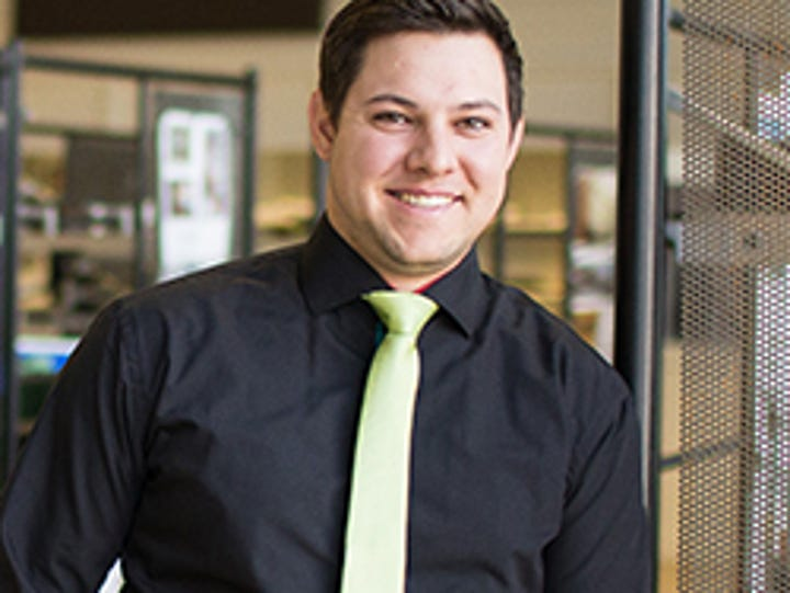 Great Falls Young Professional Aaron Schuldt
