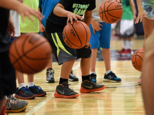 """""""The whole situation is kind of tricky because it changes week to week and day to day,"""" said Shane Hennen, the Pentagon's basketball coordinator and skill development coach."""
