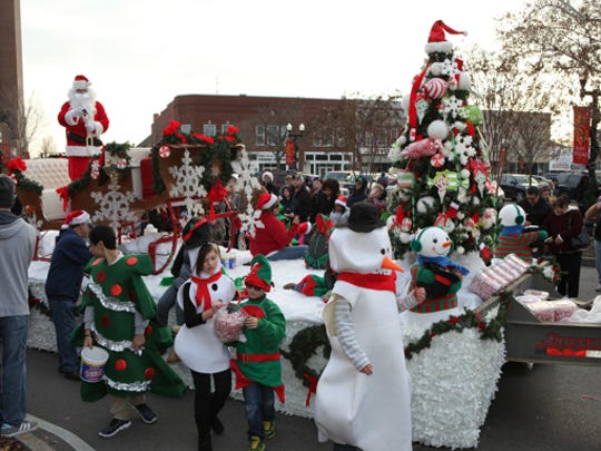 Sights from the Murfreesboro Christmas Parade on Dec. 14, 2014.