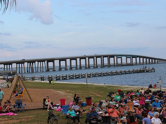 Thursdays in the Park at the Navarre Park.
