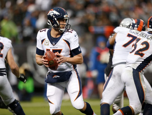 USP NFL: DENVER BRONCOS AT OAKLAND RAIDERS S FBN OAK DEN USA CA