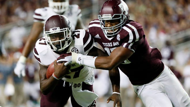 Running back Aeris Williams may be one of the solutions to Mississippi State's running attack.