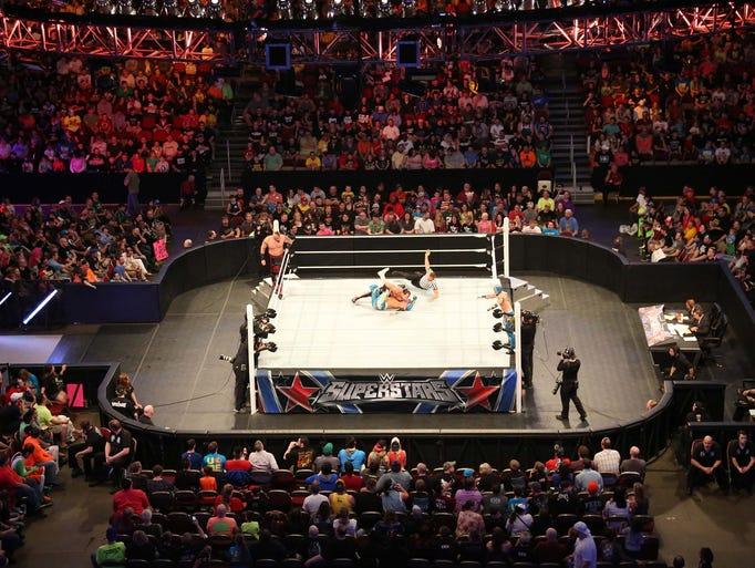 WWE Raw came to Wells Fargo Arena on Monday, March
