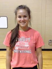 Lauren Ching, Chambersburg girls volleyball