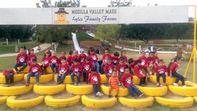 Bell Elementary School Pre-K classes recently attended the Mesilla Valley Corn Maze in Dona Ana County and were treated to fun and educational activities at the park.This is the first year for the Pre-K program at the school, set up for 4- and 5-year olds who will enter kindergarten next school year.