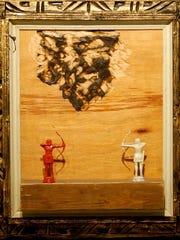 MaryAnn Bonjorni's work uses found objects, such as