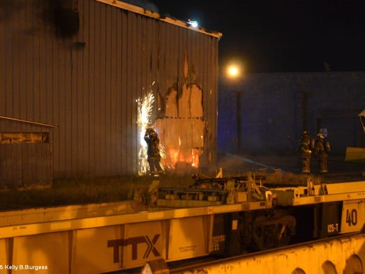 Fire damages equipment at Norfolk Int'l Terminals