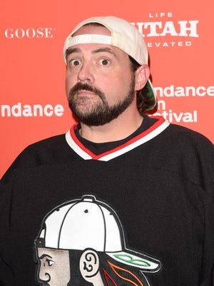 """Director Kevin Smith will co-host 'Geeking Out,' a new AMC late-night show focusing on pop culture.  PARK CITY, UT - JANUARY 24:  Director Kevin Smith attends the """"Yoga Hosers"""" Premiere during the 2016 Sundance Film Festival at Library Center Theater on January 24, 2016 in Park City, Utah.  (Photo by Jason Merritt/Getty Images for Sundance Film Festival) ORG XMIT: 599986429 ORIG FILE ID: 506658920"""