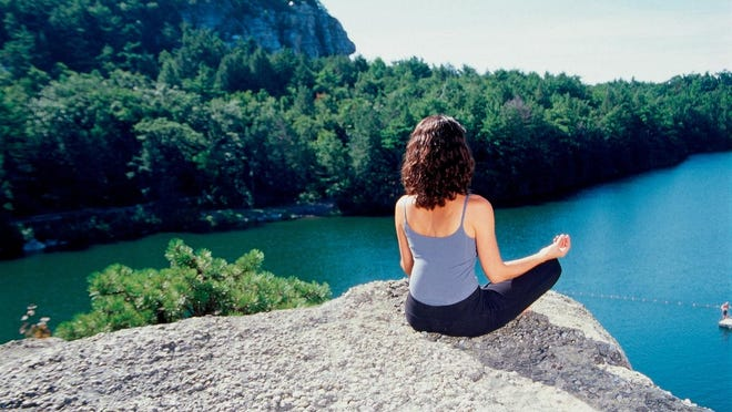 Meditation and being mindful can help to reduce daily stress.