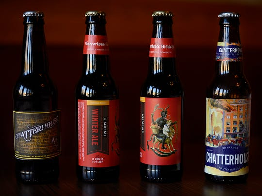 The Chatterhouse Brewery lineup includes Chatterhouse