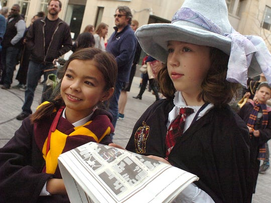 The third annual Wizarding Weekend returned to downtown