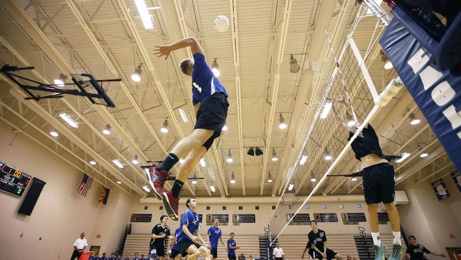 Boys volleyball heads into the final week of the season with three more rounds to go, culminating with Saturday's 6:30 p.m. championship at Gilbert Mesquite.