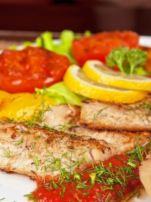 Instead of re meat, the Mediterranean diet focuses on fish and other types of seafood.