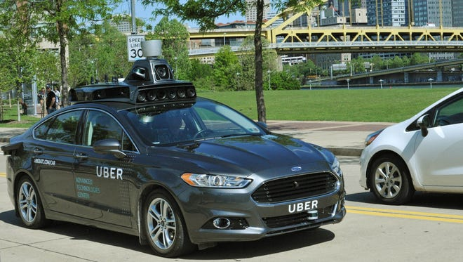Uber's new self-driving car has begun testing on the streets of Pittsburgh.