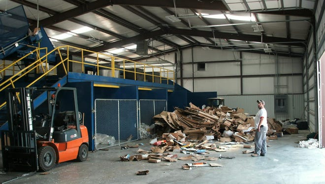 Carlsbad's Rainbow Recycling will no longer be available due to cost and sale value.