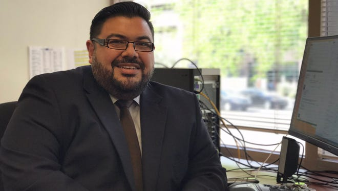 Matt Morales was promoted to deputy recorder in Maricopa County.