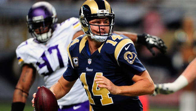 Rams QB Shaun Hill has started one game since 2010.