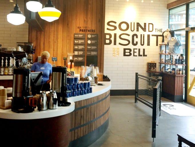 Entry and order counter at Holler & Dash No. 5.