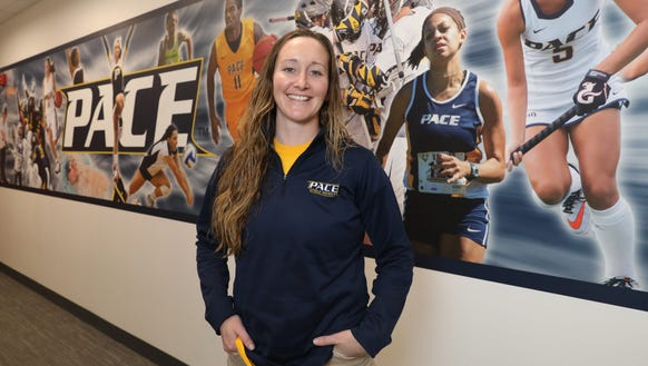 Kayte Kinsley, a former Putnam Valley player and current
