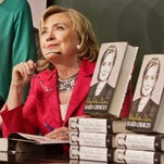 A reader thinks Hillary Clinton has too much baggage to be President.