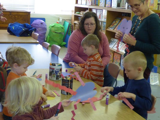 Bethesda Library_Story Time Craft Fun_Feb. 2016