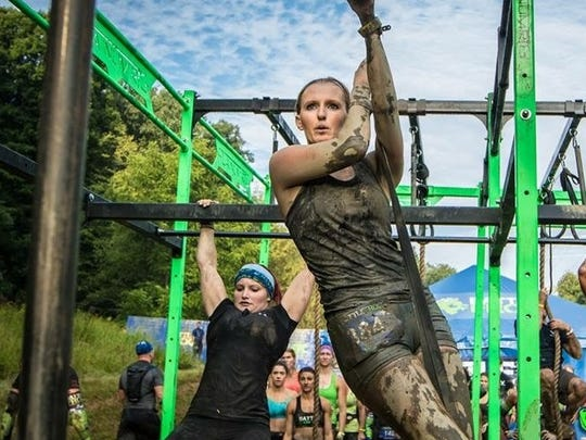 The BattleFrog Series, a mud obstacle course racing