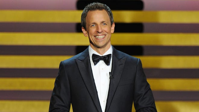 Seth Meyers will perform on March 19 at Hilbert Circle Theatre.