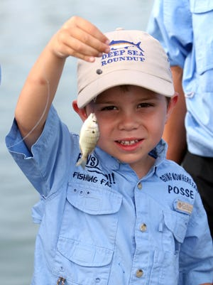 The Corpus Christi Parks & Recreation Department will have its Hooked on Fishing Day Camps from 9 a.m. to 3 p.m. March 13-17 at the Lindale Recreation Center, 3133 Swantner Drive.   A recent poll suggests that 85 percent of adults anglers began fishing when they were 12 or younger. But fewer kids fish these days.  DAVID SIKES/CALLER-TIMES  Thousands of kids in the United States have an unfulfilled desire to go fishing, according to a recent poll.