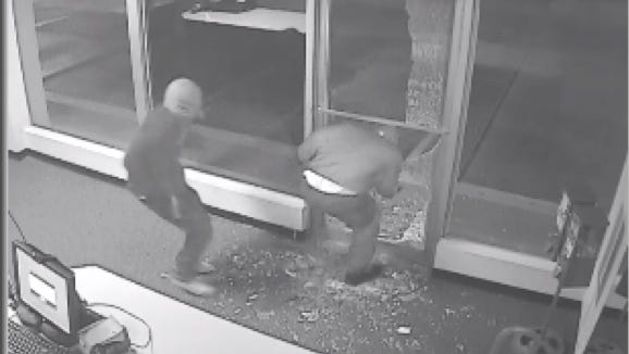 Hattiesburg police are looking for unidentified suspects in multiple burglaries of Town & Country Cleaners