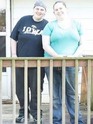 Jennifer Schafer, 30, and Dorothy Varallo-Speckeen,