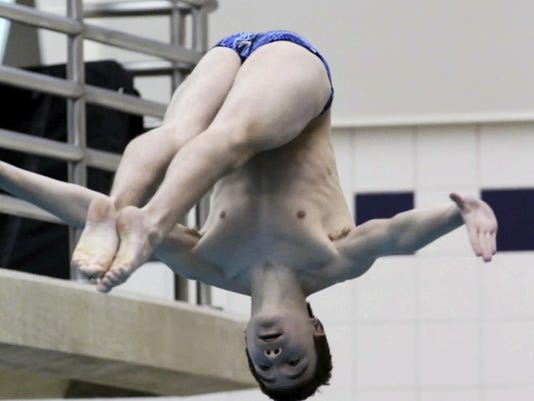 Chambersburg diver Nick Cover finished ninth in the AT&T USA Diving National Championships last week. The soon-to-be sophomore finished with 328.55 points.