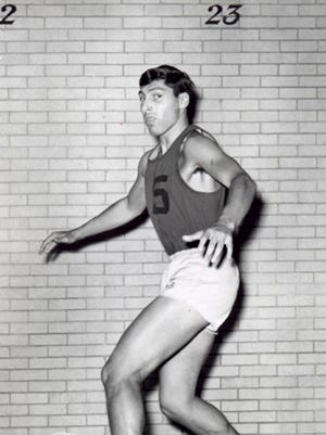 Jim Valvano during his Rutgers playing days