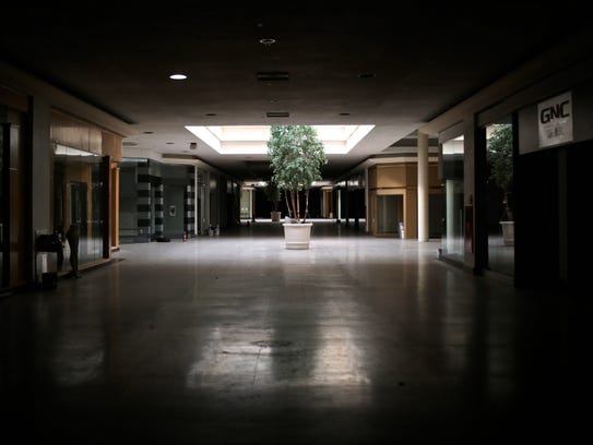 The interior of Northland Center mall is seen on Wednesday,