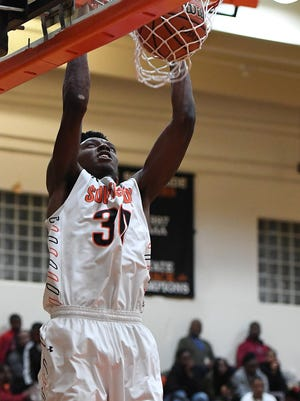 Southside senior Jamal Burke has been named to the Class AAA boys all-state basketball team.