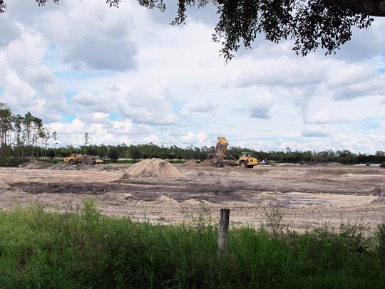 Naples-based Distinctive Communities broke ground in