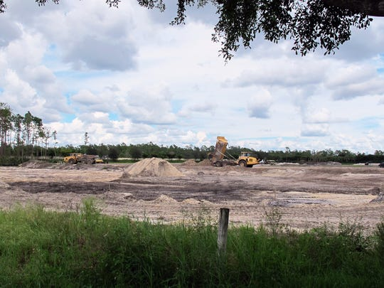 Naples-based Distinctive Communities broke ground in July on The Enclave of Distinction, a 27-home development on Livingston Road just south of the Collier-Lee county line in North Naples.