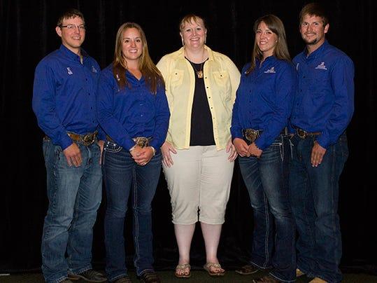 Quadrathlon team