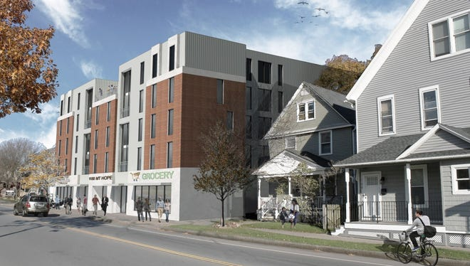 Developers Ken Burnham and Duncan Frame proposed the development earlier this month.