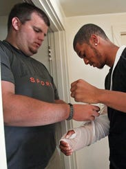 Corey Donovan and Rodrick Buckworth
