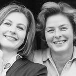 "Ingrid Bergman and Claude Rains in ""Notorious"""