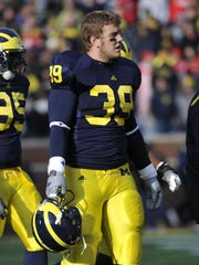 The four-time Academic All-Big Ten honoree struggled with depression that left him mentally and physically exhausted.