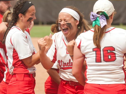 6Vineland softball earns state final berth