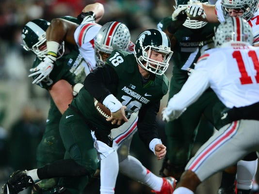 Michigan State S Offense Saw Bright Spots In 2014 Loss To Osu