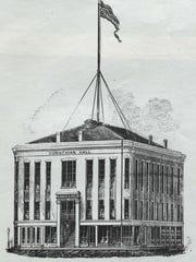At Corinthian Hall, Frederick Douglass, Susan B. Anthony