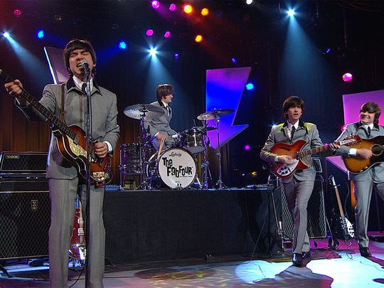 The Fab Four: Ultimate Tribute will perform at the Capitol Civic Centre on April 23.