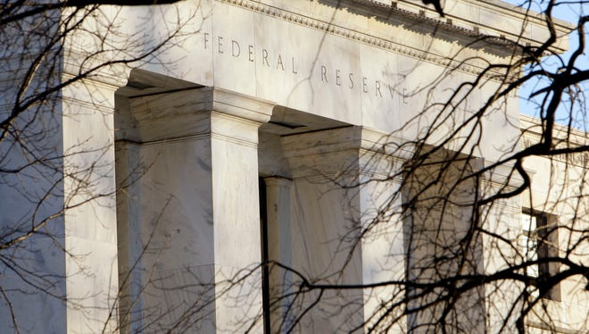 Te Federal Reserve Building in Washington D.C.