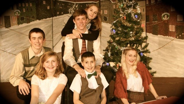"Salem Keizer Inspirational Teen (SKIT) Theatre will perform ""It's a Wonderful Life"" Dec. 2-3, 9-10 at Leslie Middle School, 3850 Pringle Road SE."