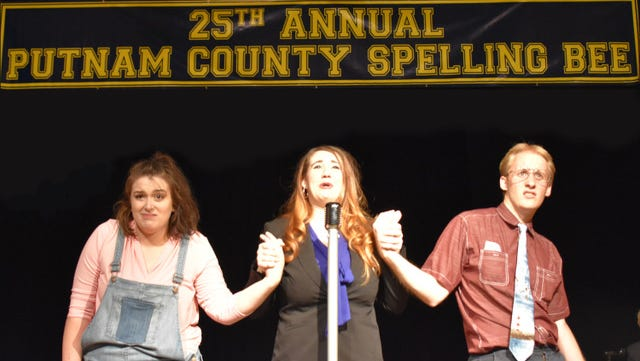 """Axiom Repertory Theater Company's production of the """"25th Annual Putnam County Spelling Bee"""" opens at Old City Hall in Redding."""