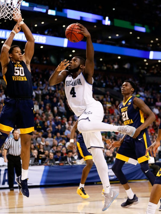 NCAA Basketball: NCAA Tournament-East Regional-Villanova vs West Virginia