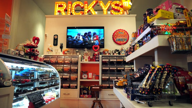 Ricky's Bubbles and Sweet Shoppe has temporarily closed for replacement of ceiling tiles and will reopen on March 4.